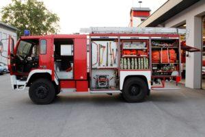 Verkauf unseres Tanklöschfahrzeuges (TLFA 4000)