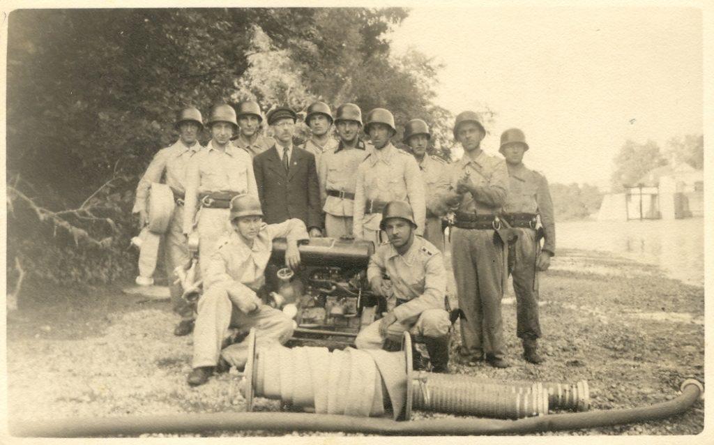 Gründung Werksfeuerwehr Rauscher