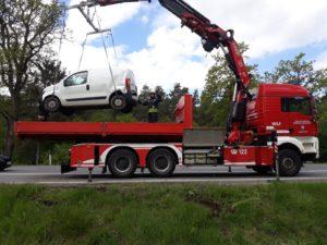 Fahrzeugbergung B121