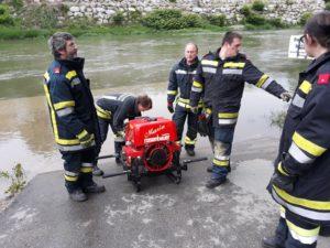 Übung: Tragkraftspritze und Wasserförderung
